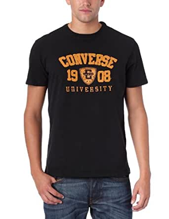 Converse Kirk - T-Shirt Team College - Homme - Noir - S