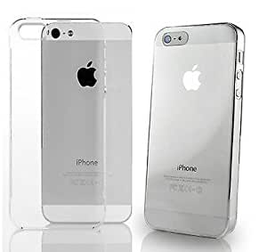 Rydges Designer High Quality Hard - Crystal Case für Apple iPhone Schutz Hülle Hard Cover Tasche (transparent) (iPhone 5 5S)