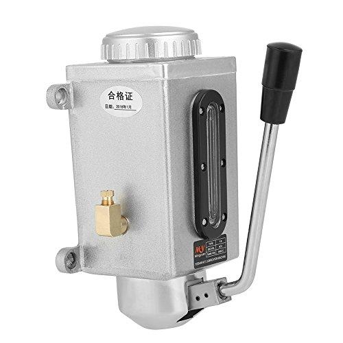 Lubrificazione manuale della pompa dell\'olio per lubrificazione manuale 500CC CNC 4mm Doppia uscita della presa per la punzonatrice di tornio