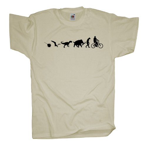 Ma2ca - 500 Mio Years - Biker Fahrrad T-Shirt Natural