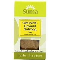 Suma Organic Ground Nutmeg 20 g (Pack of 12)