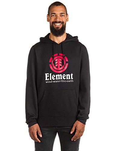 Element Vertical Hoodie Nero