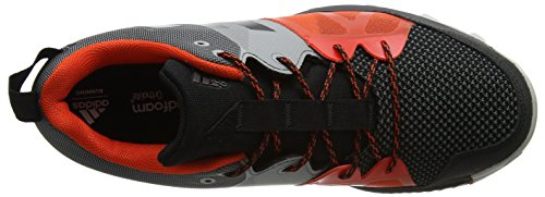 adidas Kanadia 8.1 TR, Chaussures de Trail Homme Noir (Core Black/Core Black/Energy)