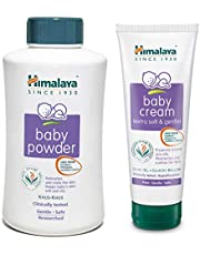 Himalaya Baby Powder, 700g and Cream, 200ml Combo