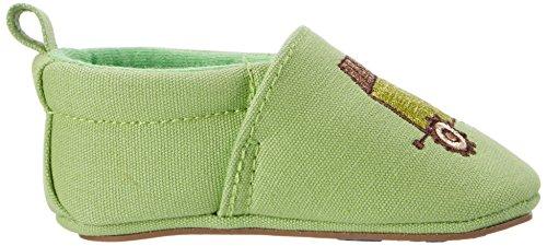 Sterntaler - Baby-krabbelschuh, Scarpine e pantofole primi passi Bimbo 0-24 Grün (Sommergrün)