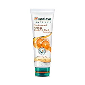 Himalaya Tan Removal Orange Peel-Off Mask, 50g