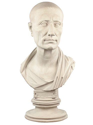 Forum Traiani Caesar Büste Berlin helle Patina römische Statue Replik