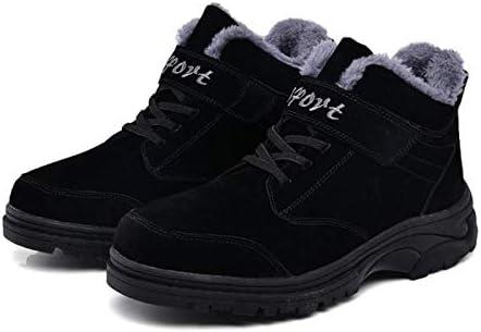 DANDANJIE Scarpe da Uomo Inverno Caldo Escursioni Trekking Trekking Trekking Scarpe High-Top scarpe da ginnastica Anti-Slip Lace-up Velcro Scarpe Casual all'aperto (Coloreee   Nero, Dimensione   43 EU) B07K8K4MVG Parent | Nuova voce  | Garanzia autentica  5de71f