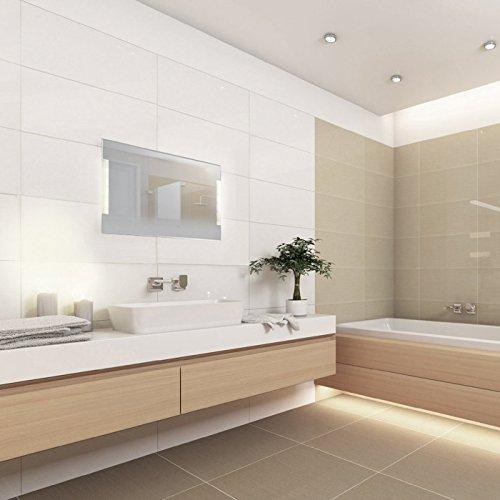 Badezimmerspiegel mit Beleuchtung - Euskirchen 90 cm