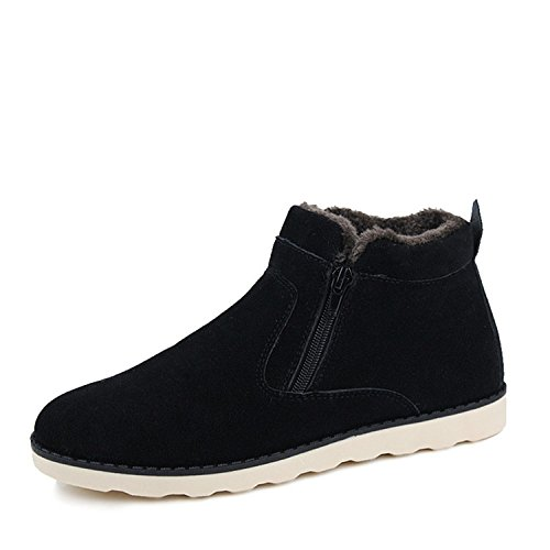 Winterstiefel Unisex Stiefel Warm Gefütterte Schneestiefel Sneakers Bootsschuhe Winter Kurzschaft Stiefel für DAMEN HERREN Größe 37-47 NEU von CANRO
