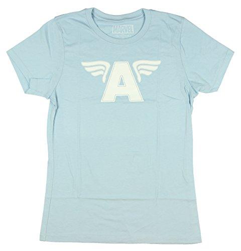 Marvel Captain America Her Universe Vintage Logo T-Shirt