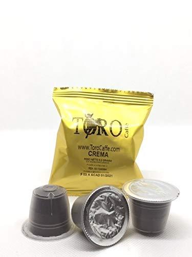 Toro Caffè - 100 Capsule NESPRESSO Compatibili Cialde Caffè Crema Arabica