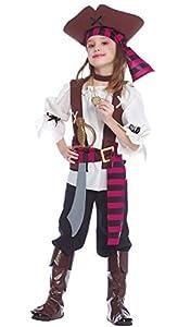 Guirca 85381 - Pirata Siete Mares Infantil Talla 5-6 Años