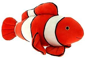 Mercier Toys 65897 - Peluche, Color Naranja y Blanco