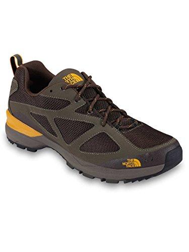 The North Face Blaze Hommes Synthétique Chaussure de Randonnée D1E- Weimaraner Brown-TNF Yellow