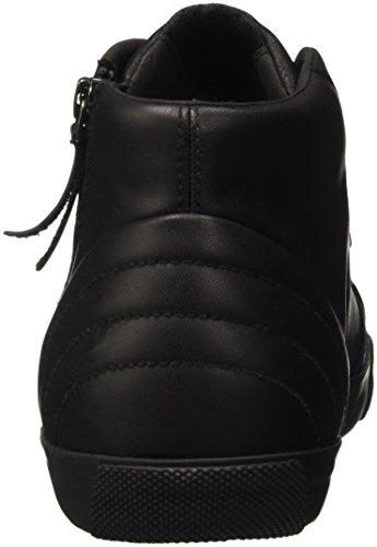 Geox U Smart H, Sneakers Hautes Homme Schwarz (BLACKC9999)