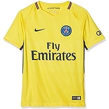 Nike PSG Y Nk BRT Stad JSY SS AW Camiseta 2ª Equipación Paris Saint Germain  17 043a7897ff160