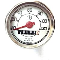 Mickey Ersatzteile VM1300Vespa Känguru Tachometer/Tacho rund Lenker 120km/h Ø = 48mm Vespa V5050N 90