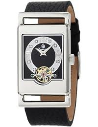 Burgmeister Delft BM510-122 - Reloj de mujer automático, correa de piel color negro
