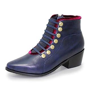 Lunar Womens Napoleon Military Style Fashion Boot 11