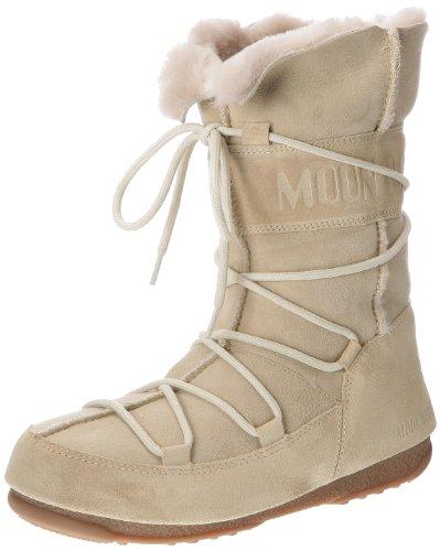 Moon Boot, Moon Boot W.E. Vagabond Mid, Stivali, Donna, Beige (004), 38