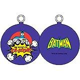 UNIVERS DC Batman Be Good or ka-boom–Boule de Noël, blanc