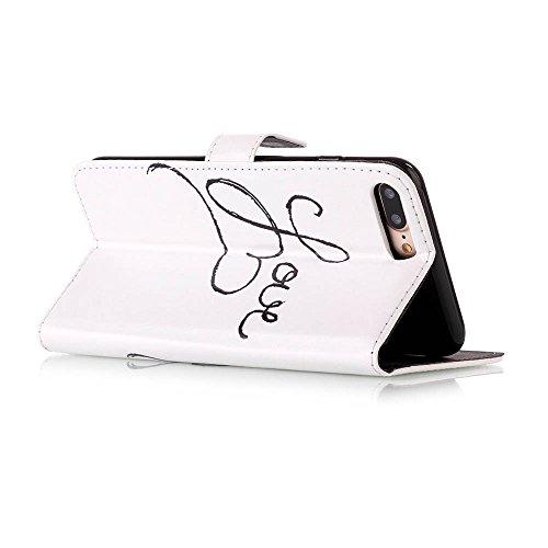 Iphone 7 Hülle, Linvei leder Hülle für Iphone 7 Flip Case ,Magnetic closure Apple 7 hülle, Schutz vor Dreck für Iphone 7 Taschen Schale Color 4