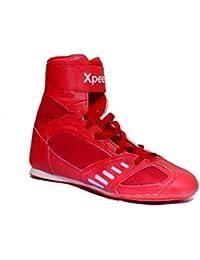 "Boxeo/Wrestling zapato XpeeD ""XpeeD"" en color rojo Talla:10"