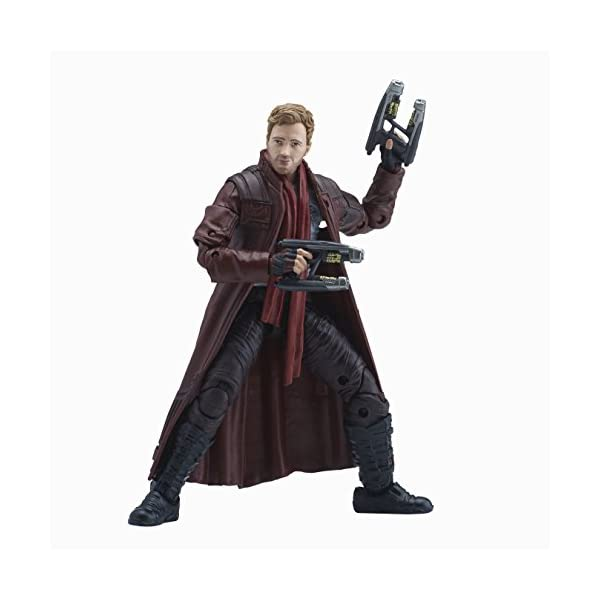 Marvel Guardianes de la Galaxy Leyendas Series Star-Lord, 15,2 cm 3
