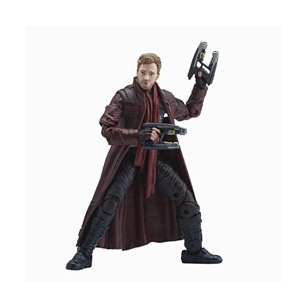 Marvel Guardianes de la Galaxy Leyendas Series Star-Lord, 15,2cm 3