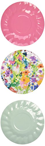 Talking Tables Tropical Party Mini Kanapee-Teller für Grill, Luau, oder Sommer Party, Multicolor (12Stück) (Bubble Guppy Supplies Party)