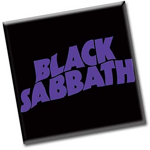 Black Sabbath - Metall Magnet - Logo (Konzert-tour-shirt)