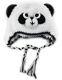 BONAMART ® Winter karikatur Panda Kids Baby Kinder Junge Mädchen Mütze Wintermütze Hüte Beanie Hut Earmuff