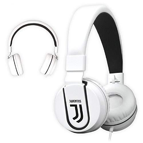 Cuffie Juventus Originali con Microfono e Tasto funzione Multimedia Headphones