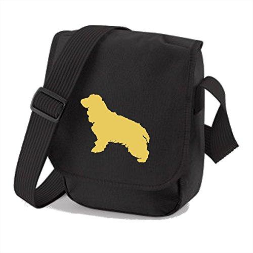 Bag Pixie, Borsa a spalla donna Cream Dog Black Bag