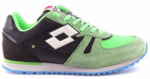 Lotto Leggenda Sneaker Tokyo Shibuya Verde/Nero EU 41
