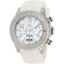 Vip Time Italy Women's VP8024WH Magnum Lady Sporty Chronograph Watch
