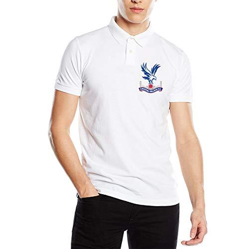 Crystal Palace F.c. Mens Premium Polo Shirt Unofficial Men's Polo Shirts