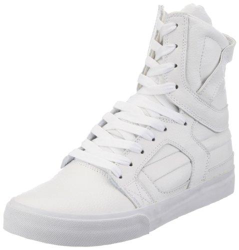 Supra Skytop 2 S01031, Sneaker uomo, Bianco (Weiß (WHITE - WHITE   WHT)), 43