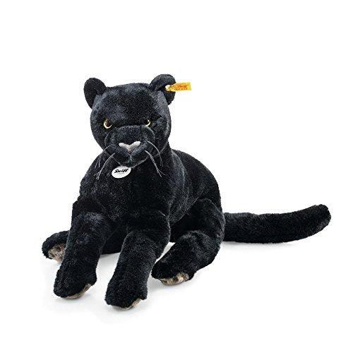 Steiff 084072 - Nero Schlenker Panther 40 Liegend, schwarz