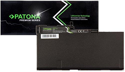 PATONA Premium Laptop Akku mit (4500mAh Samsung inside) für HP EliteBook 740 745 750 755 840 845 850 855 HP ZBook 14 ZBook 15u (ragt nicht über das Gehäuse hinaus!)
