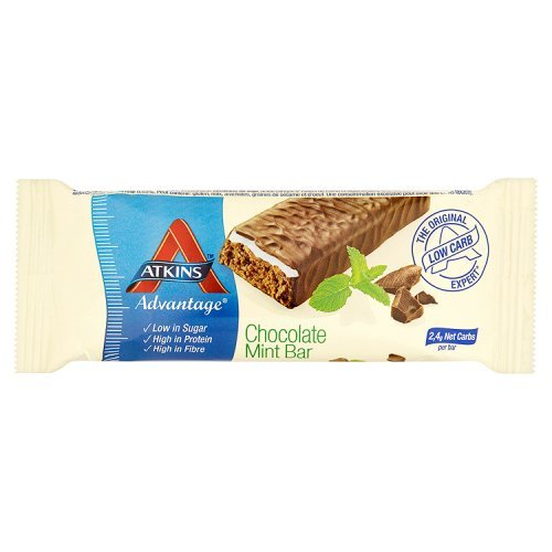 Atkins Advantage Chocolate Mint Bar 60g -