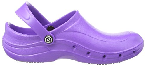 Toffeln Eziklog, Chaussures de sécurité mixte adulte - Gris - Grey (Graphite Grey), 39 EU Violet (Purple)