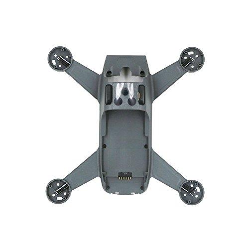 Ocamo Cubierta de Cuerpo Chasis Componentes de chasis Medio para dji Spark RC Quadcopter,Piezas de Reparación