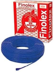 Finolex 1.5Sqmm wire 90m coil - Blue