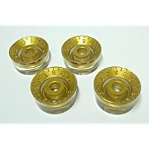 (MADE IN JAPAN)High Quality Low Laurette Speed Knob Embossed Gold inch Set …