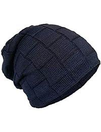 Cappello invernale unisex caldo in maglia con interno poliestere lanoso  morbido - modello berretto sportivo ed e73798cbe8b9
