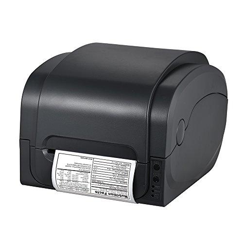 aibecy Label Barcode Quittung von Wärmeübertragung gp-1134t Breite-Hochauflösender Kunstdruck...