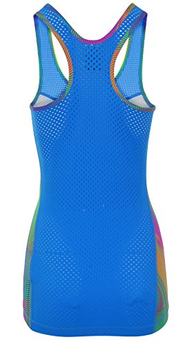 Nike Pro Hypercool Frequency Femme Entraînement débardeur Top, Multi Multicolore