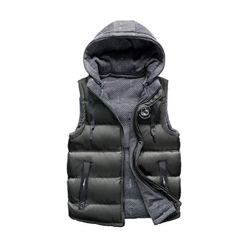Clearance Sale ODRD [L-3XL] Herren Damen Pullover Männer Hoodie Doppelseitige Weste Baumwolle Jacke Parka Pulli Sweatshirt Freizeit...